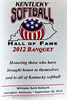 Kentucky Softball Hall of Fame Dinner 2012-0587