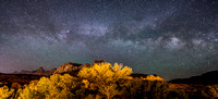 Milky Way Over Zion National Park-2013