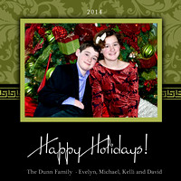 Dunn Happy Holidays 2014 5x5